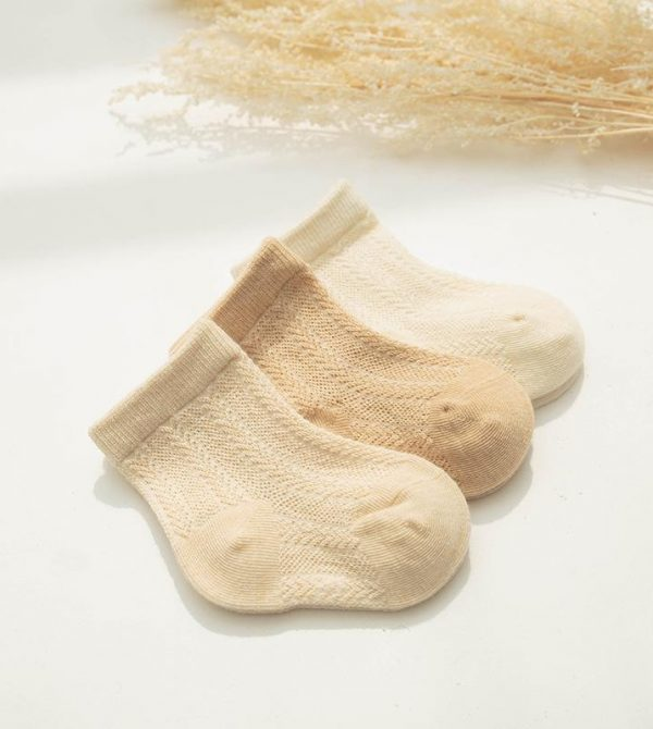Organic Cotton Summer Basic Socks