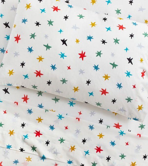 Organic Scandi Starburst Sheet Set