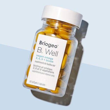 B. Well Vegan Omega 3, 6, 9 + Biotin Supplements for Healthy Hair – Briogeo | Sephora