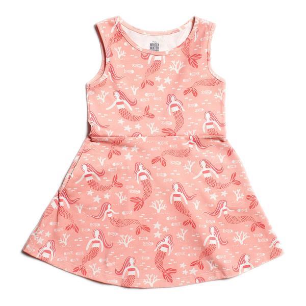 Pink Mermaid Tank Dress