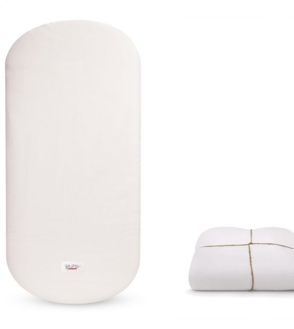 Non-Toxic Oval Crib Mattress With Smart Cover