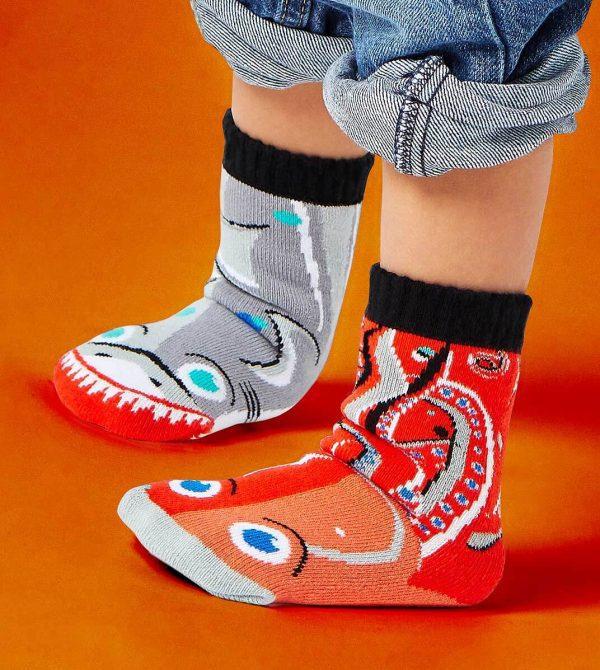 Pals Shark & Octopus Kids Socks
