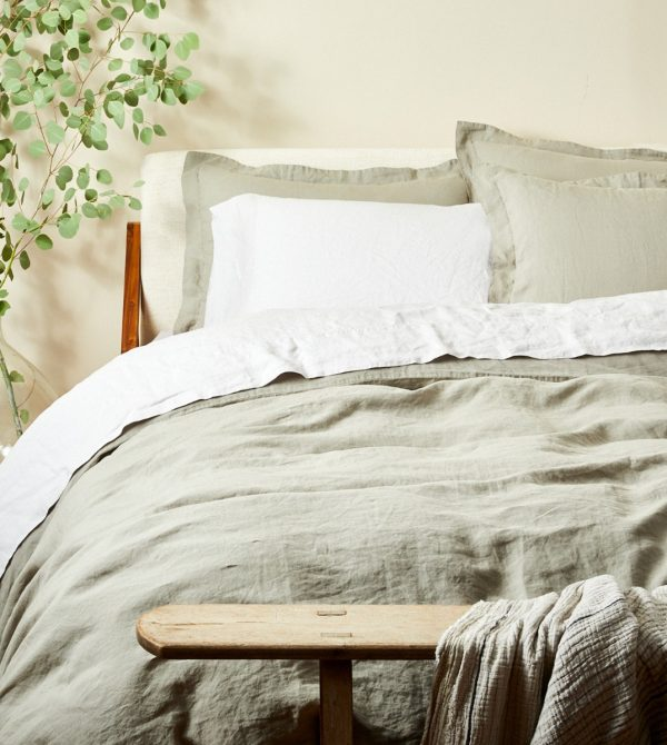 Organic Relaxed Linen Duvet Cover