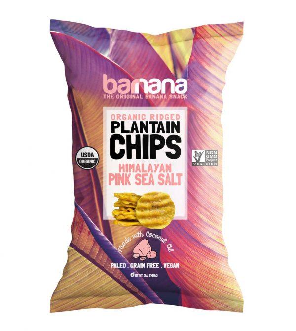 PINK SALT PLANTAIN CHIPS