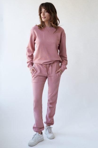 Kissed Organic Terry Sweatshirt