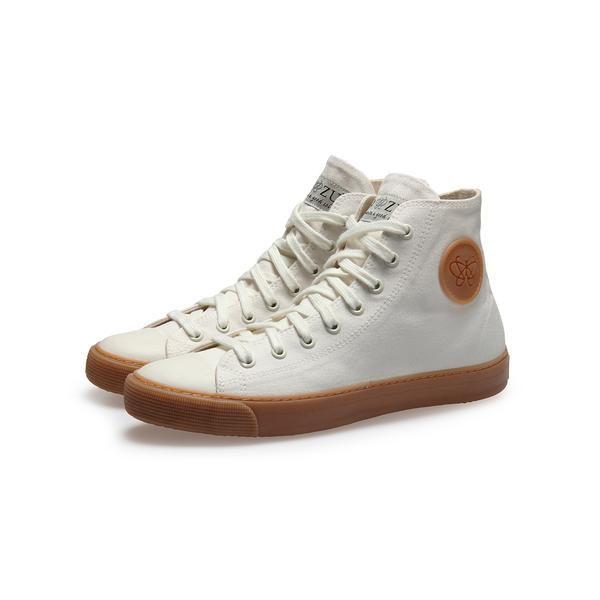 Off-White High Top Vegan Mens Sneakers