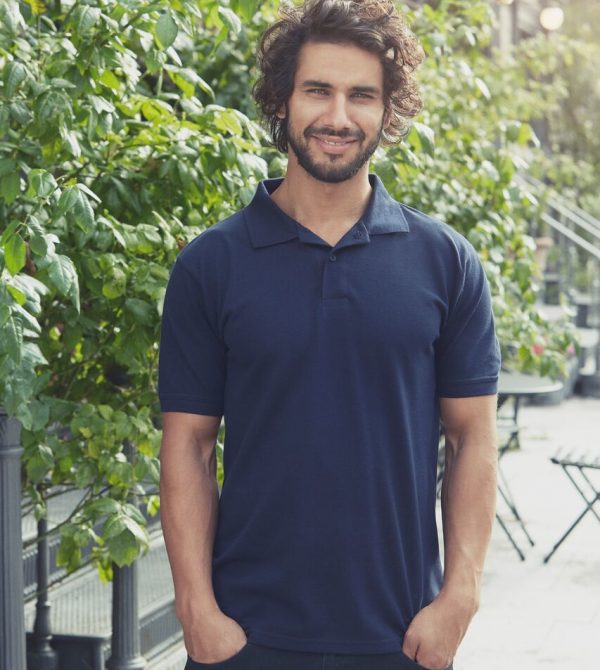 Men's Classic Polo | Organic Cotton & Fairtrade | Navy Blue
