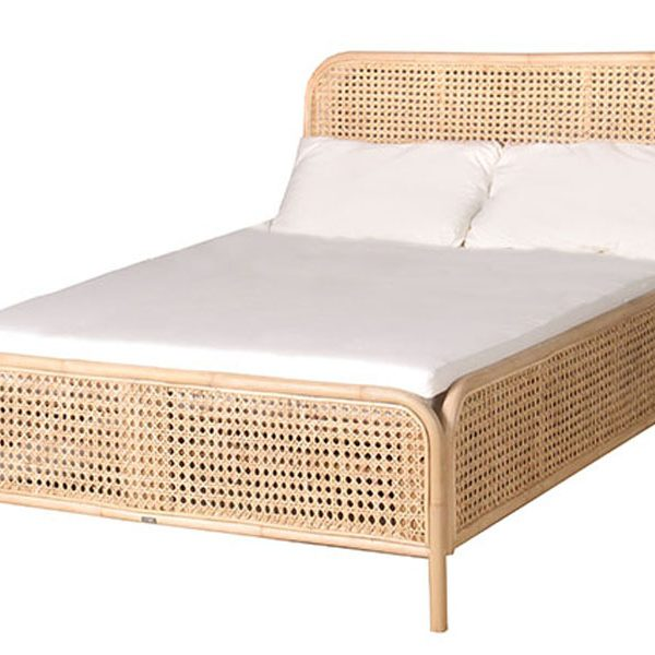 Sahara Bed w/o Mattress – Elements Concept