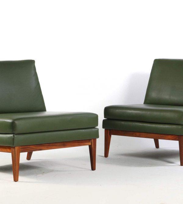 Mid Century Modern Slipper Chairs  –   Abtmodern
