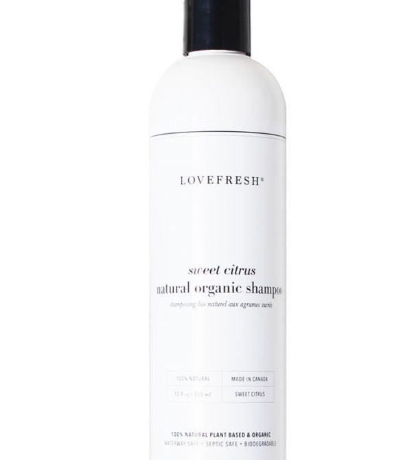 Sweet Citrus Organic Shampoo