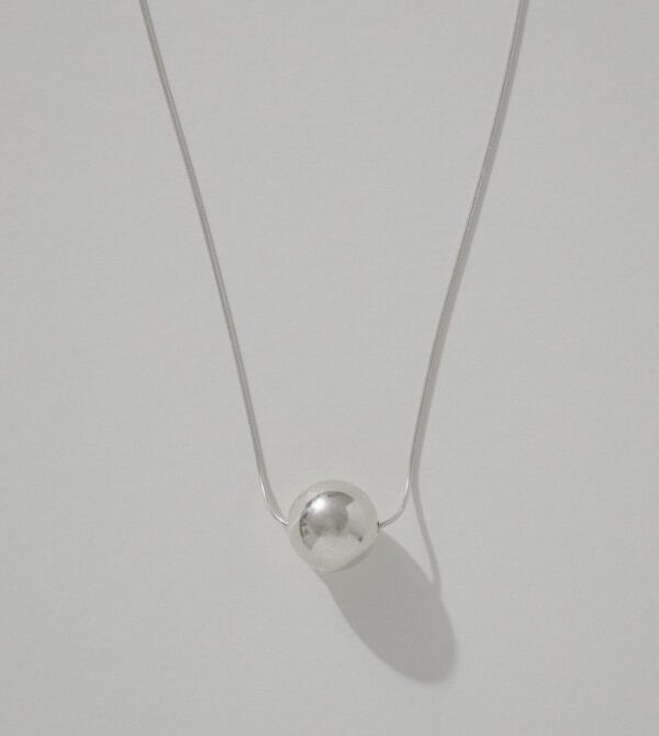 Silver Orb Necklace | Another Feather