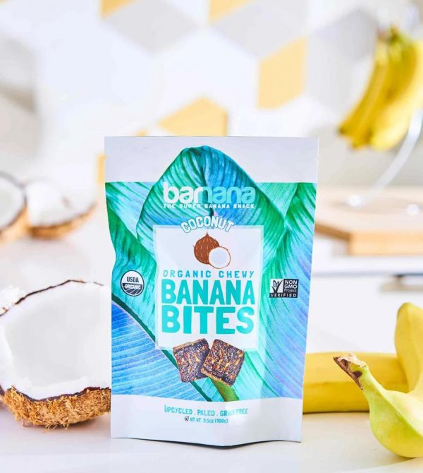COCONUT BANANA BITES