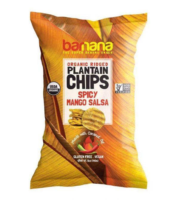 SPICY MANGO SALSA PLANTAIN CHIPS
