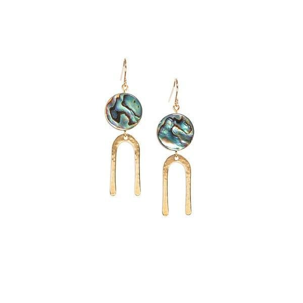 Son of a Sailor Frances Short Earrings – Mother of Pearl