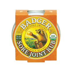 Organic Sore Joint Rub