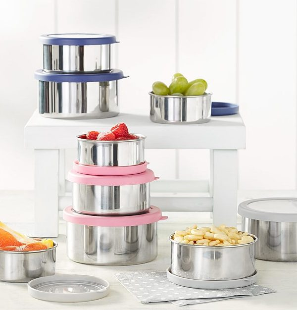 Spencer Stainless Nesting Container Trio