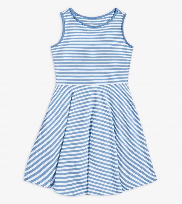Stripe Twirly Dress