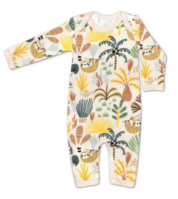 Organic Cotton Coverall – Sloth