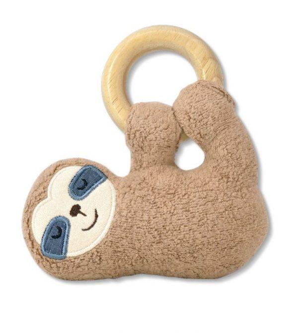 Organic Plush Teething Toy – Sloth
