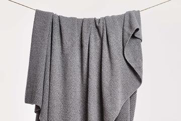 Chunky Knit Throw -loomahome