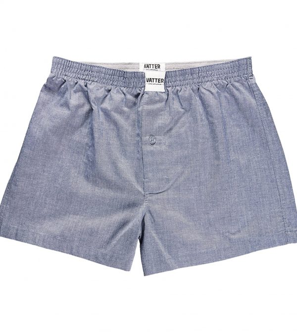 "VATTER Boxer Short ""Loose Larry"" Denim"