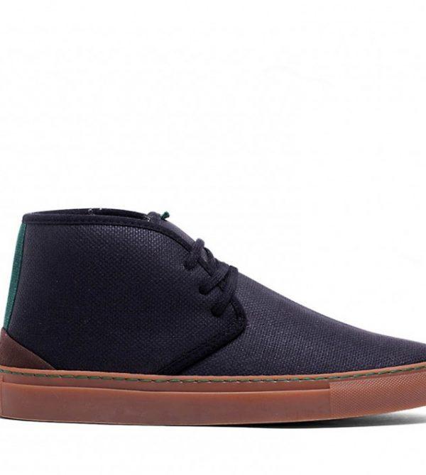 Vegan Sneaker | VESICA PISCIS Pythagoras Winter Black