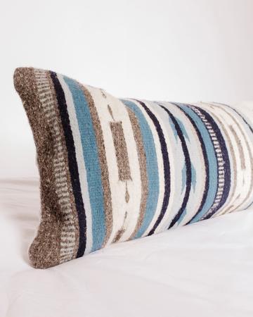 Vela Azul Oversized Lumbar Pillow