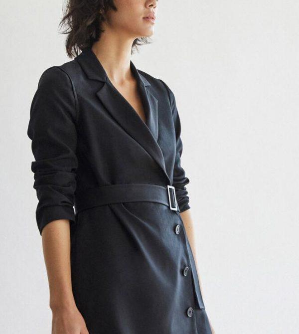 The Belted Blazer Dress – VETTA