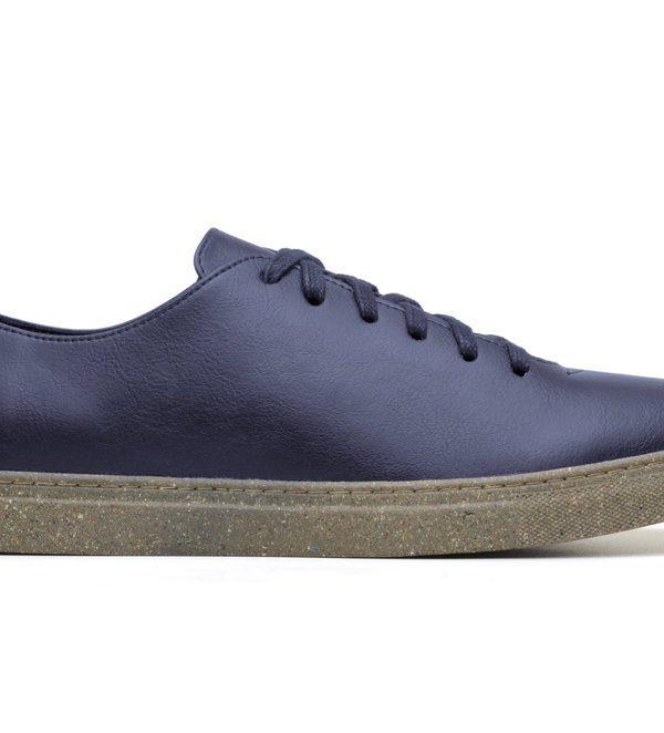 Weekend Sneaker, Navy & Recycled Sole — Brave Gentleman