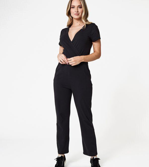 Women's Wrap Front Jumpsuit