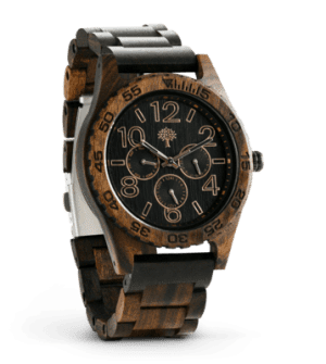 The Oakwood Wood Watch – Chanate