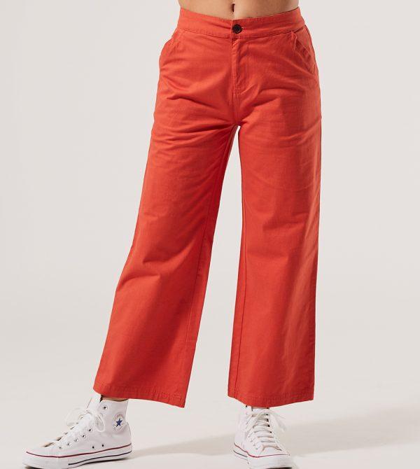 Women's Woven Wide Leg Pant