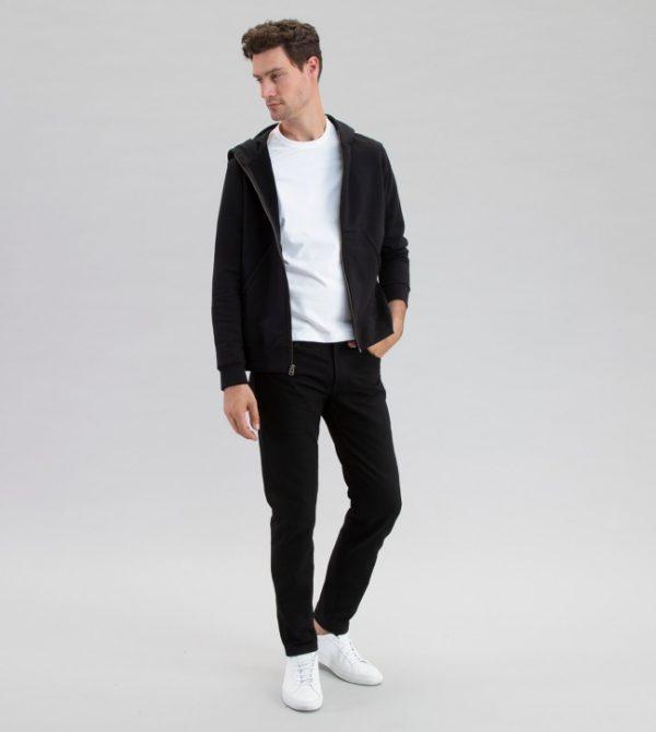 Electric Company Zip Black – Todd Shelton Men's Sweatshirts