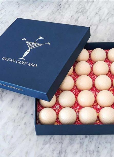 Biodegradable Golf Balls: Ocean Golf